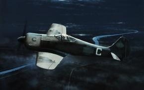 Картинка art, painting, aviation, Focke-Wulf, Ivan Berryman, Fw190A-5U8