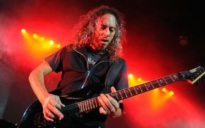 Обои Rock, thrash metal, Рок, жёсткий рок, Кирк Хэмметт, спид-метал, speed metal, hard rock, heavy metal, ...
