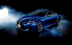 Обои Lexus, лексус, 2015, синий, седан