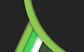 Обои черный, геометрия, material, color, линии, белый, салатовый, design, зеленый