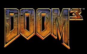 Картинка логотип, logo, Doom, Doom 3