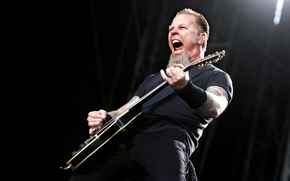 Обои James, Metallica, Hetfield, Alan