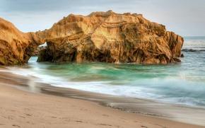 Картинка beach, sea, rocks, seashore