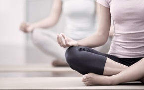 Обои pose, yoga, legs