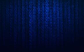 Картинка синий, полосы, темный, текстура