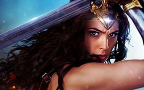 Обои Чудо-женщина, Movie, Диана, Амазонка, Wonder Woman, Diana, DC Comics
