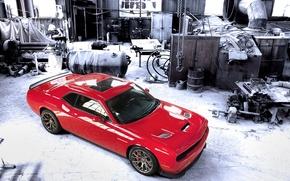 Картинка Dodge, Challenger, picture, Hellcat, SRT