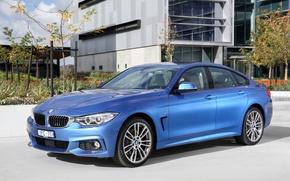 Картинка бмв, BMW, Gran Coupe, 4-Series, F36