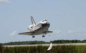 Картинка космос, USA, США, шаттл, NASA, Columbia, shuttle