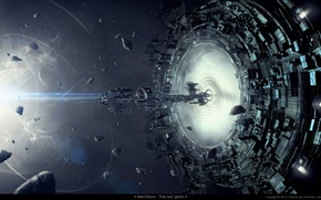 Картинка spaceship, neoterya, the last gate