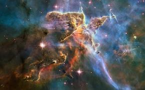 Картинка космос, туманность, NASA, Hubble, starkiteckt
