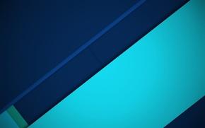 Картинка линии, синий, голубой, геометрия, design, color, material