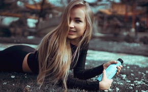 Обои View, Bottle, Beauty, Gorokhov, Model, Mary Jane, Girl, Portait, Nice