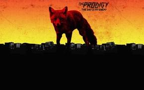 Обои Fox, The Prodigy, Album, The Day Is My Enemy, Music