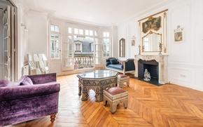 Картинка Paris, luxury apartments, Rue Le Sueur