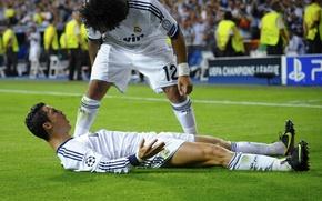 Картинка CR7, Реал Мадрид, Real Madrid, Marcelo, C.Ronaldo, CriRo, 2012-13
