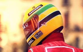 Картинка шлем, Ferrari, спины, Gran Turismo 6, экстремальный спорт, Ayton Senna