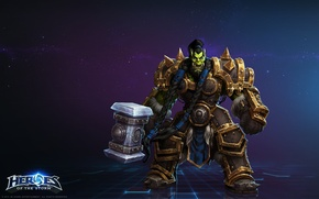 Картинка blizzard, wow, world of warcraft, Тралл, Thrall, heroes of the storm