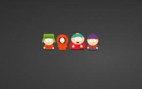 Картинка Южный парк, South Park, Стэнли (Стэн) Марш, Кеннет (Кенни) Маккормик, Эрик Теодор Картман, Кайл Брофловски