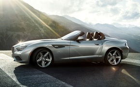 Картинка Roadster, Горы, Машина, Desktop, Car, 2012, Автомобиль, Beautiful, Bmw, Wallpapers, New, Красивая, Бмв, Zagato, Загато, …