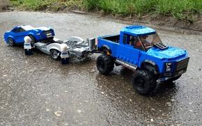 Картинка ford, lego, raptor, f150