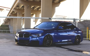 Картинка BMW, tuning, 335i, F30, stance