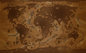 Картинка земля, мир, карта