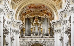 Обои аббатство святого флориана, австрия