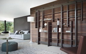 Картинка дизайн, дом, стиль, комната, вилла, интерьер, камин, гостиная