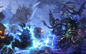 Картинка starcraft, diablo, warcraft, arthas, Demon Hunter, Jim Raynor, Zeratul, Thrall, Heroes of the Storm, nova, …