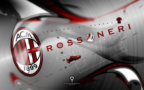 Картинка football, AC Milan, Rossoneri
