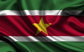 Картинка Флаг, Суринама, Suriname