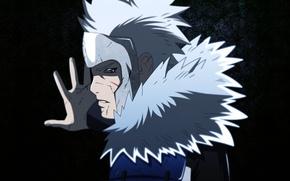 Картинка взгляд, наруто, Naruto, второй хокаге