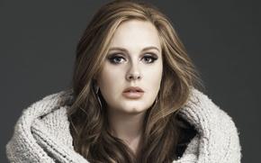 Картинка певица, adele, singer, поп-джаз/соул, englishwoman, pop-jazz/soul, адель, англичанка
