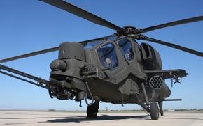 Картинка вертолёт, аэродром, ударный, «Мангуст», Mangusta, Agusta A129