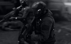Картинка костюм, автомат, солдаты, шлем, бронежилет, наемники, squad