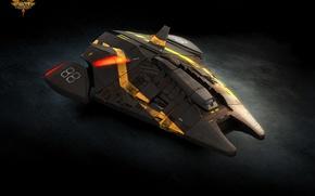 Картинка игра, корабль, арт, эмблема, Elite Dangerous, Viper mark 2