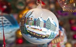 Картинка игрушка, новый год, шар, украшение