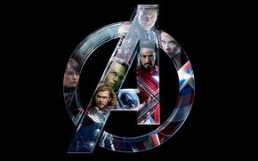 Картинка железный человек, халк, тор, супергерои, мстители, The Avengers