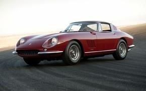 Картинка феррари, GTB, Ferrari, 275, 1965, Pininfarina