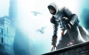 Обои Assassin's Creed, кинжал, свечение