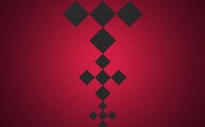 Обои абстракция, узор, цвет, квадрат