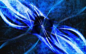 Картинка компьютер, лучи, свет, линии, цвет, логотип, эмблема, windows, операционная система