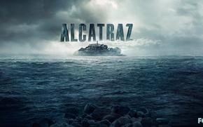 Картинка Fox, Alcatraz, Sam Neill, Sarah Jones, Jorge Garcia, алькатрас