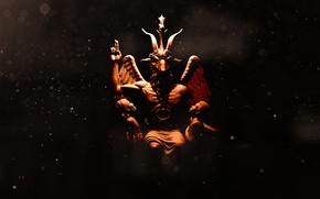 Картинка love, satan, baphomet