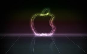 Картинка абстракция, Apple, mac