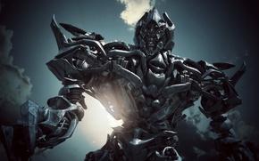 Картинка трансформеры, робот, Megatron
