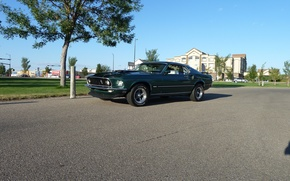 Картинка Mach 1, Musclecar, 1969, Mach1, Green, Mustang, Ford