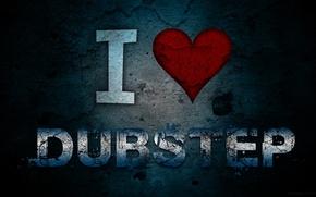 Картинка Текстура, Music, I Love Dubstep
