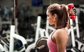Картинка woman, workout, fitness, gym